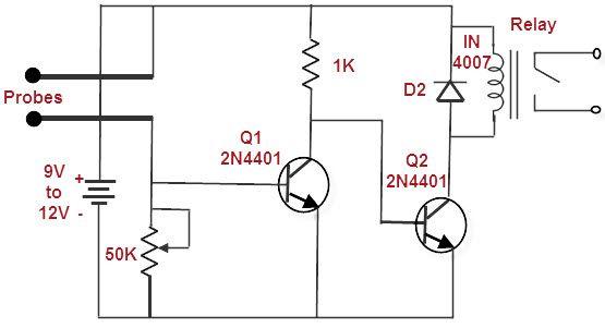 alarm system circuit schematic with explanation schematics circuits