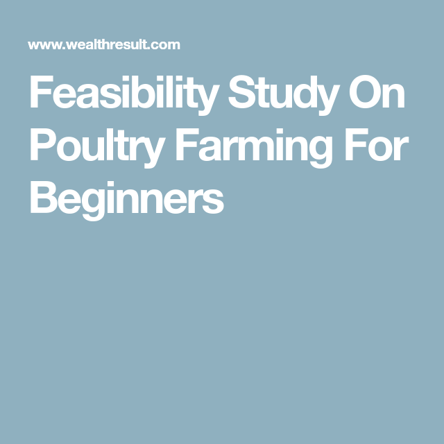 Feasibility of Broiler Production in Iowa, The - ResearchGate