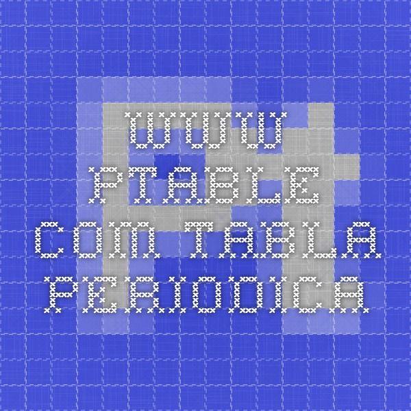 Ptable tabla periodica recursos pizarra digital periodic table ptable tabla periodica urtaz Gallery