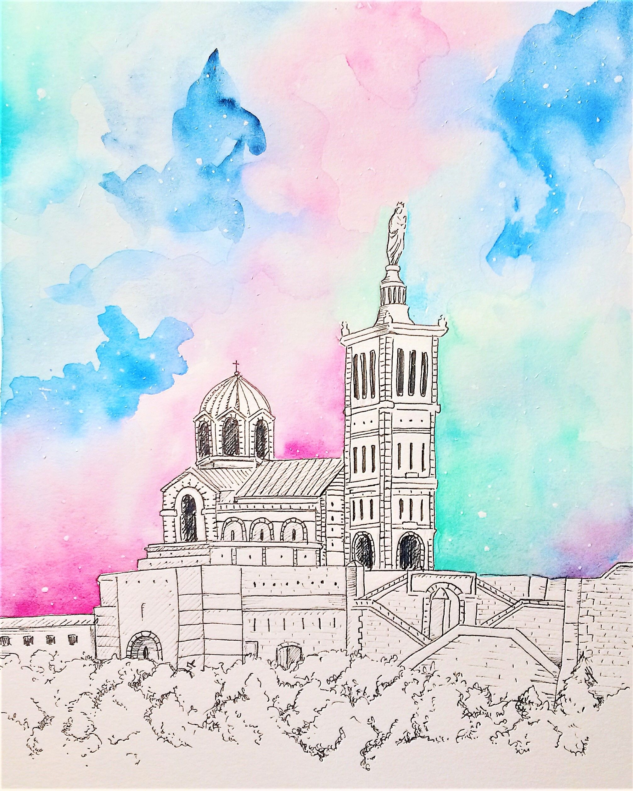 Epingle Par Mona Vicenzo Sur Marseille En 2020 Illustration