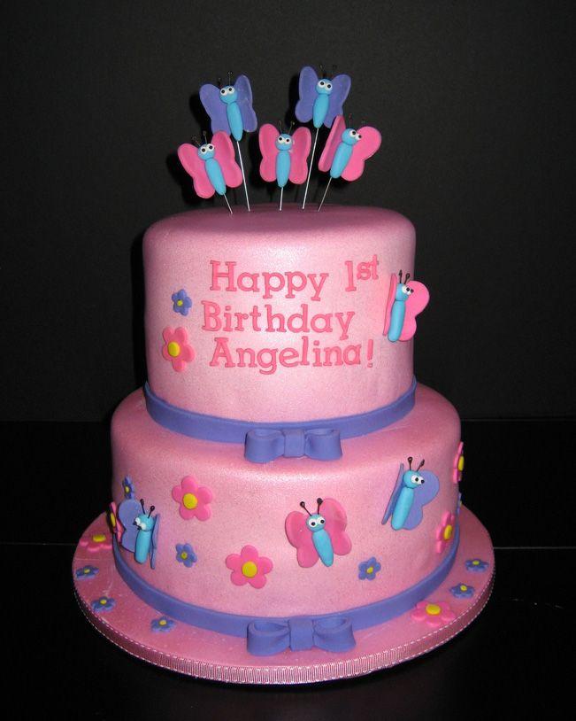 Tier Cakes Kempenfelt Barrie Ontario Anavis 1st Birthday Ideas
