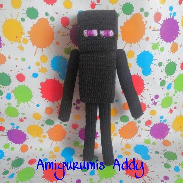 Enderman Amigurumi  #enderman #minecraft #amigurumi #crochet #tejido #handmade  #amigurumis #amigurumiaddict #amigurumicrochet #amigurumilove #hechoamano #Handmadewithlove #amigurumidoll #crochetdoll