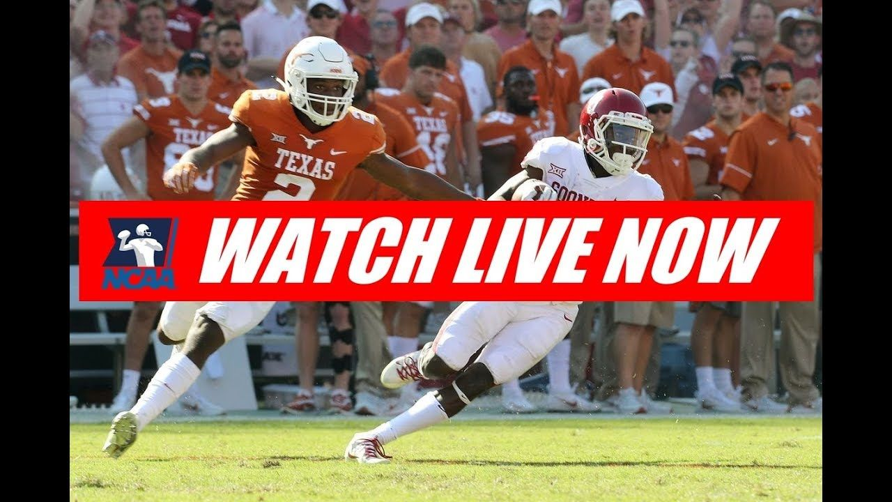 Oklahoma vs Texas 2019 Full Game LIVE College football