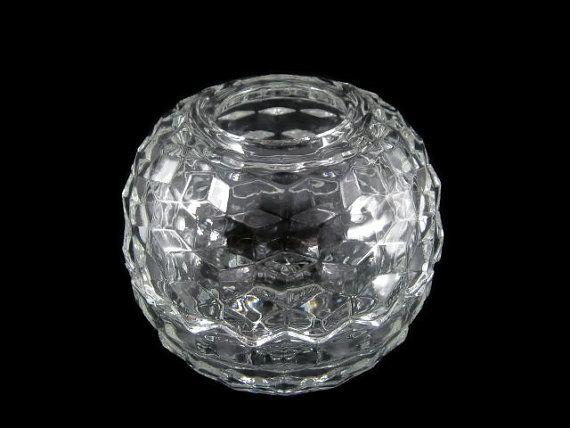 Vintage 1915  1980's Crystal USA Fostoria by OxbowCreekExchange, $30.00