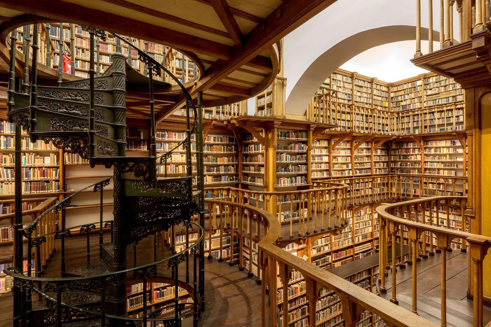 Photo of Die Klosterbibliothek gehört zu den besterhaltenen und schönsten Bibliotheken …