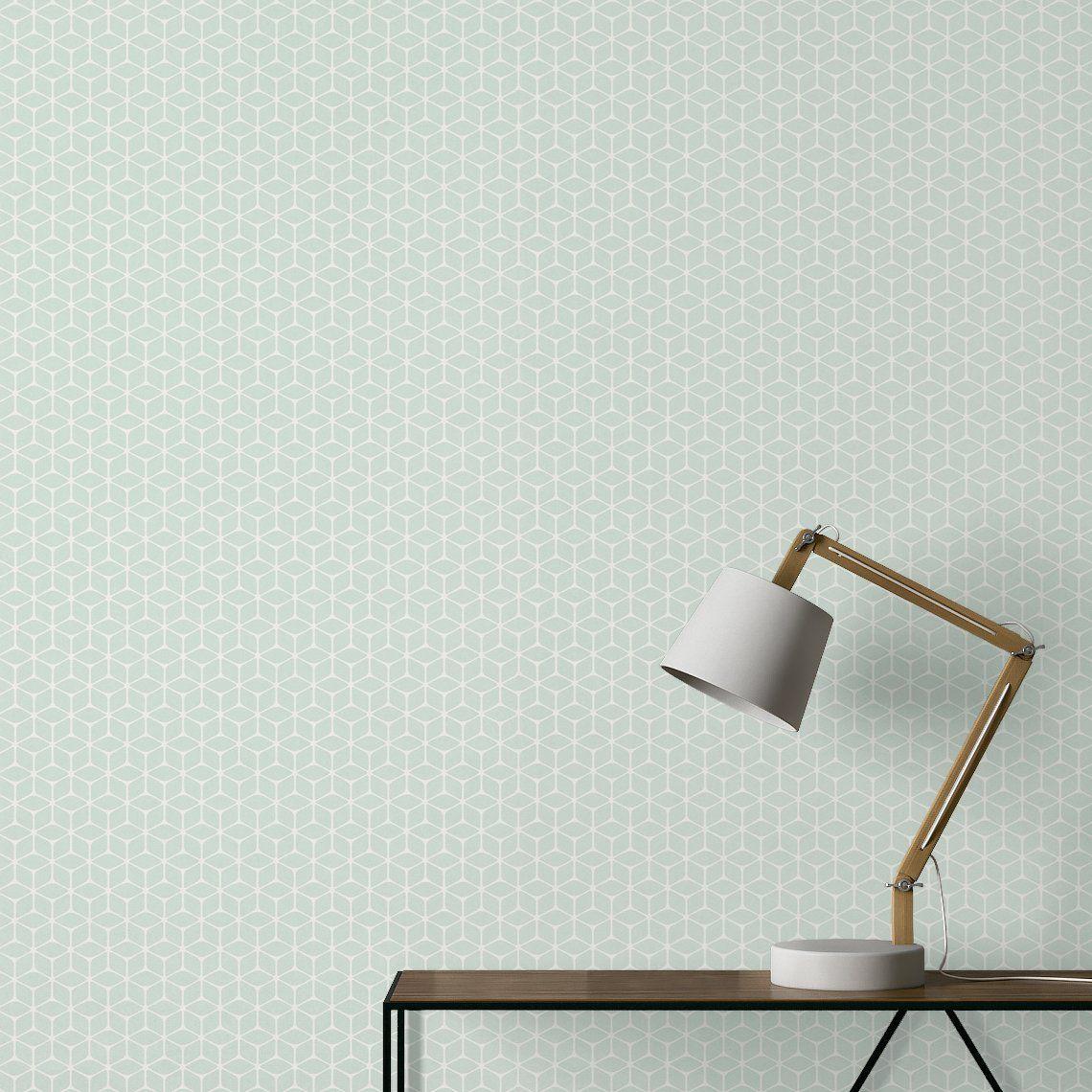 Peindre Papier Peint Motif papier peint selena expansé sur intissé motif graphique