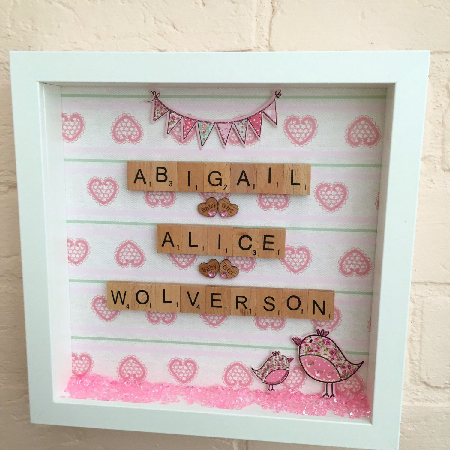 New baby gift personalised baby gift baby girl gift baby baby christening gifts a personal favourite from my etsy shop https etsy negle Gallery