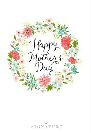 Simply Stated This Mother S Day Card From Hallmark Signature Is