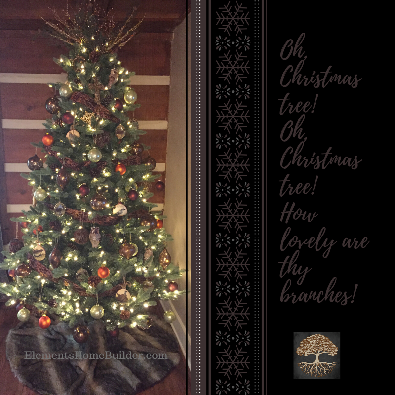 Custom Home Builders In Greenville Sc Elements Design Build L L C Christmas Tree Christmas Tree Quotes Christmas Tree Inspiration
