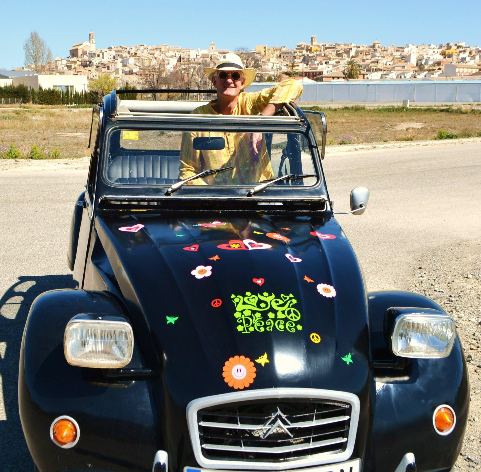 Love And Peace Vinyl Car Camper Van Stickers By Hippy Motors Http - Custom vinyl car stickers uk