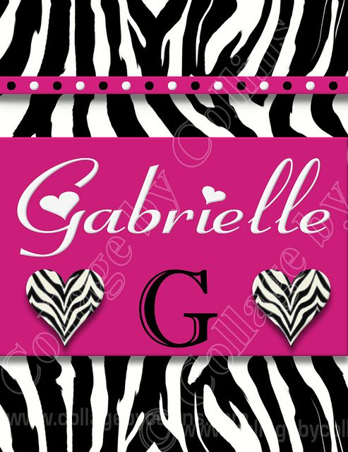 Personalized, wall, art, décor, leopard, zebra, giraffe, animal ...