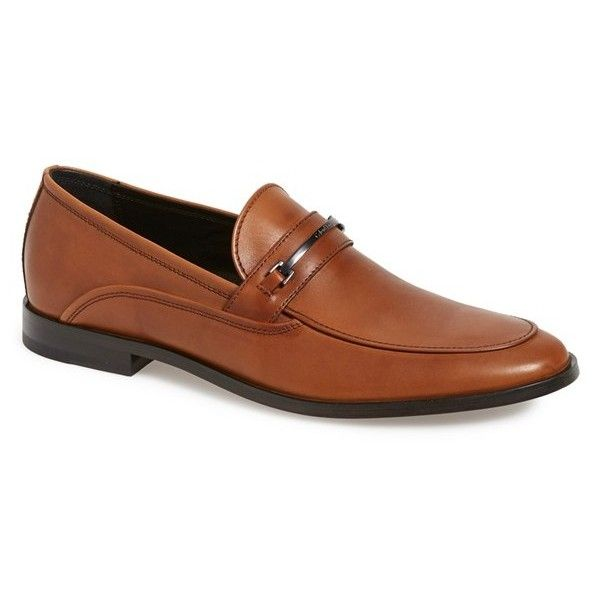 Calvin Klein 'Nordon' Bit Loafer (2 310 ZAR) ❤ liked on Polyvore