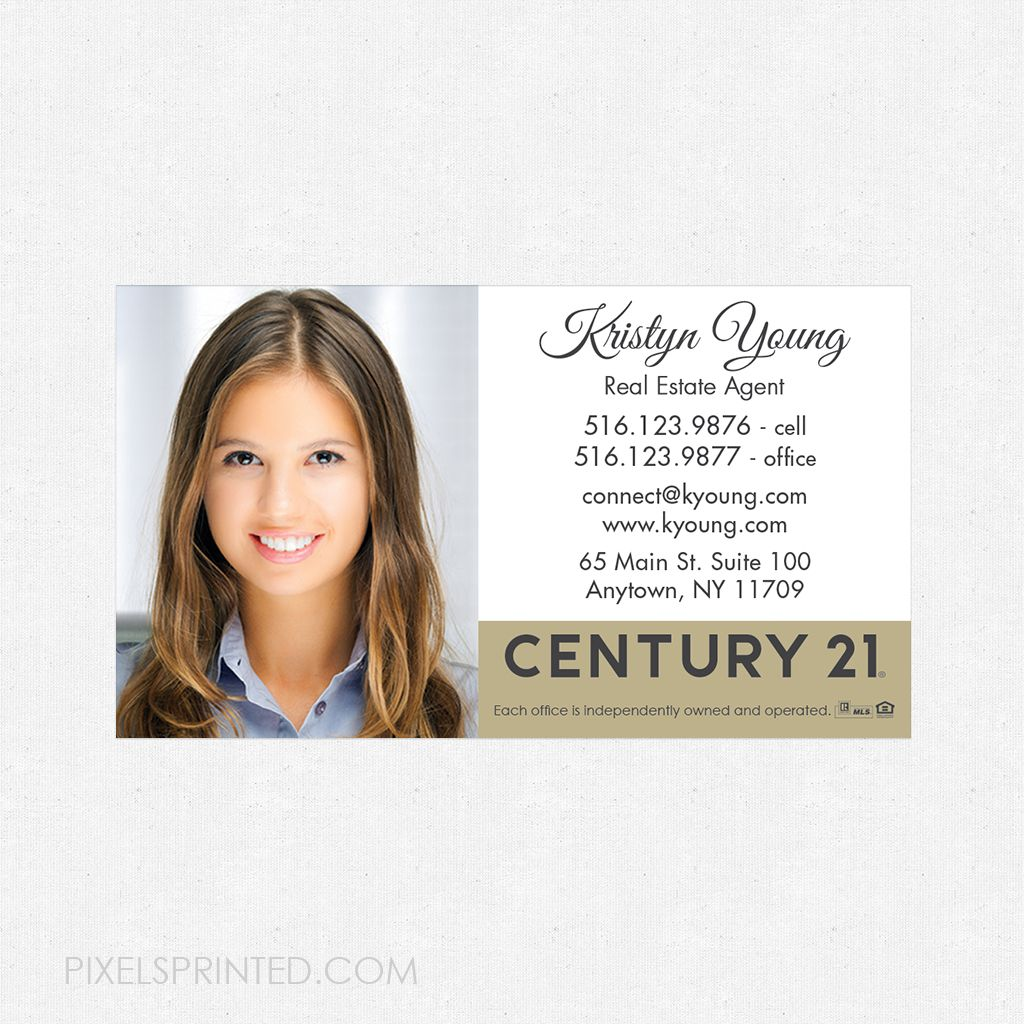 new Century 21 logo magnets, Century 21 business card magnets ...