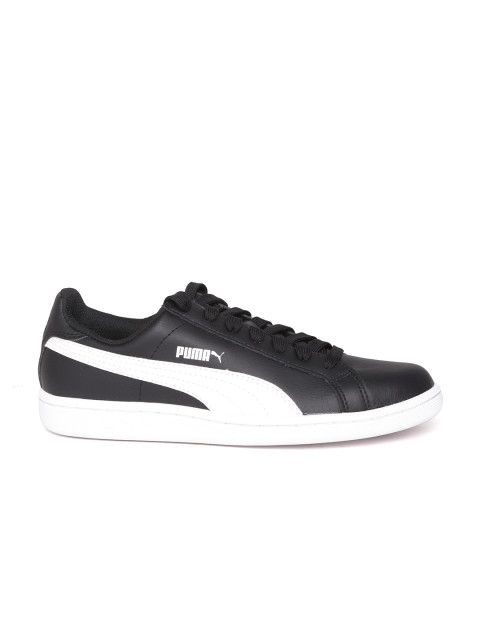 1561e4ee2d7 ... inexpensive buy puma men black smash leather sneakers casual shoes for men  myntra 8def9 2e20c
