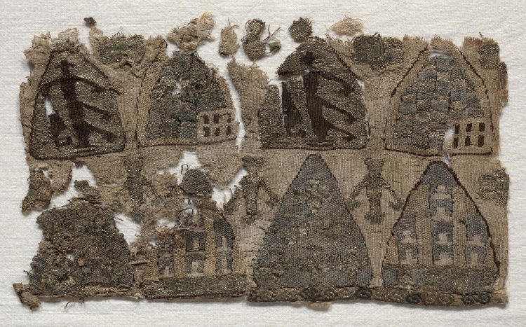 Part of a Reliquary Bag  France, last half 13th century  Medium: tapestry; silk  Accession No.: 1939.37The Cleveland Museum of Art