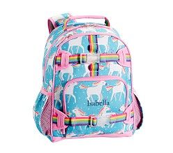Small Backpack Mackenzie Aqua Unicorn Unicorn Backpack