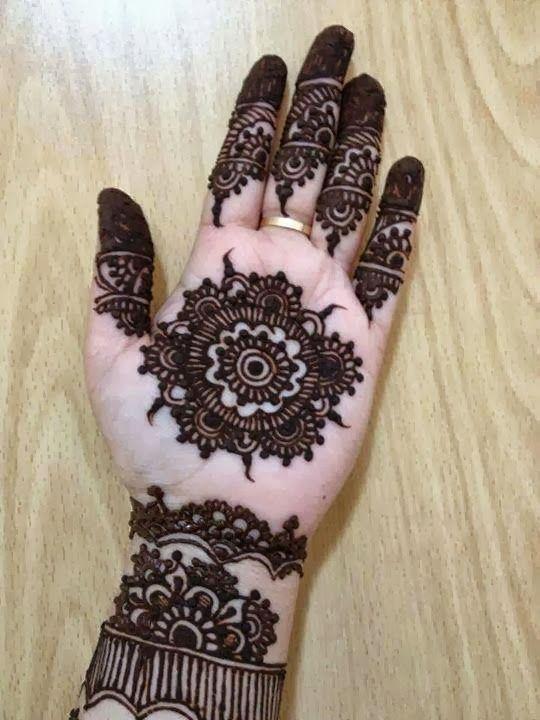 simple henna patterns feet