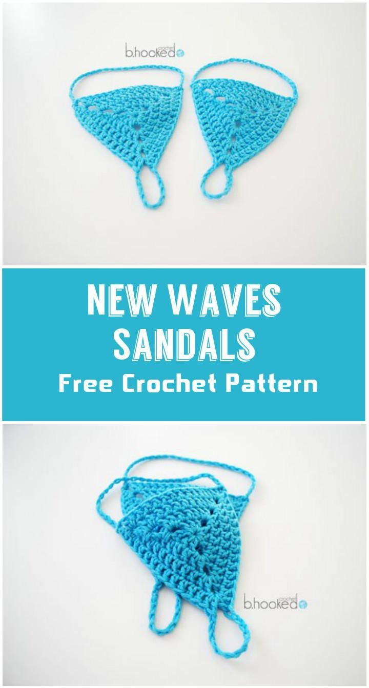 Crochet Barefoot Sandals - 50+ Free Crochet Patterns - Page 9 of 10 ...
