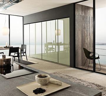 Design di Cucine, bagni e soggiorni moderni MODULNOVA - Project 04 ...