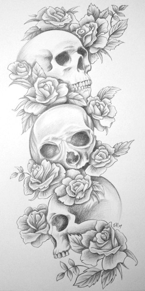 Tattoo Lovers Skull Rose Tattoos Tattoos For Women Half Sleeve Picture Tattoos