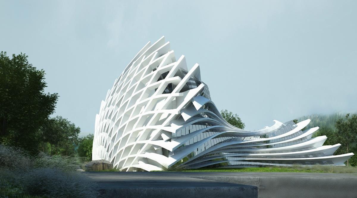 The Most Sensational Futuristic Architecture Architecture Admirers Futuristic Architecture Unique Architecture Architecture Model