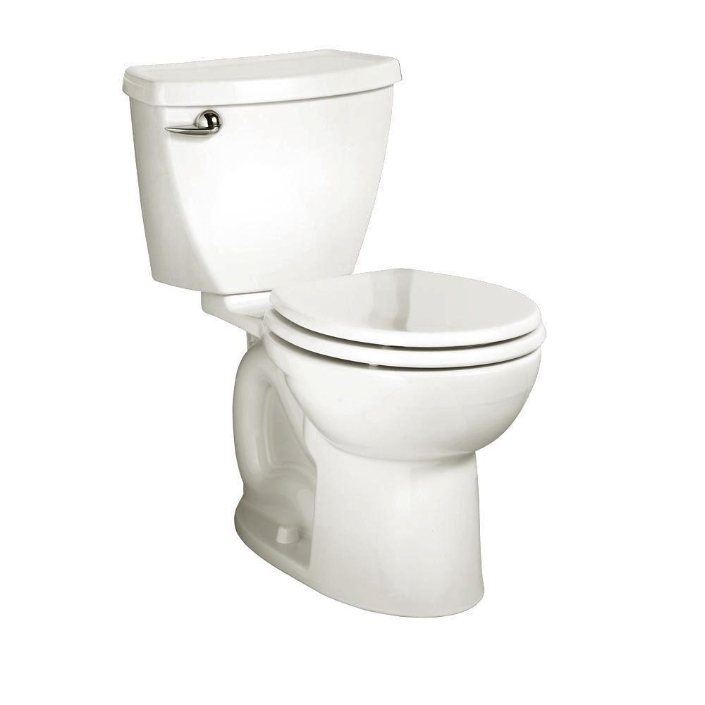 Standard toilet seat dimensions  American Standard Cadet  Powerwash piece  GPF Single Flush