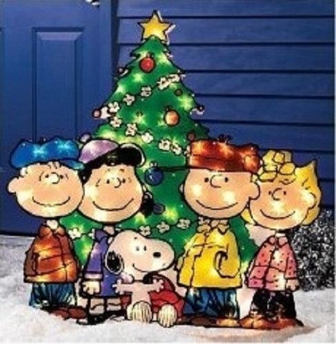 New 36 Holiday Christmas Charlie Brown Peanuts Outdoor