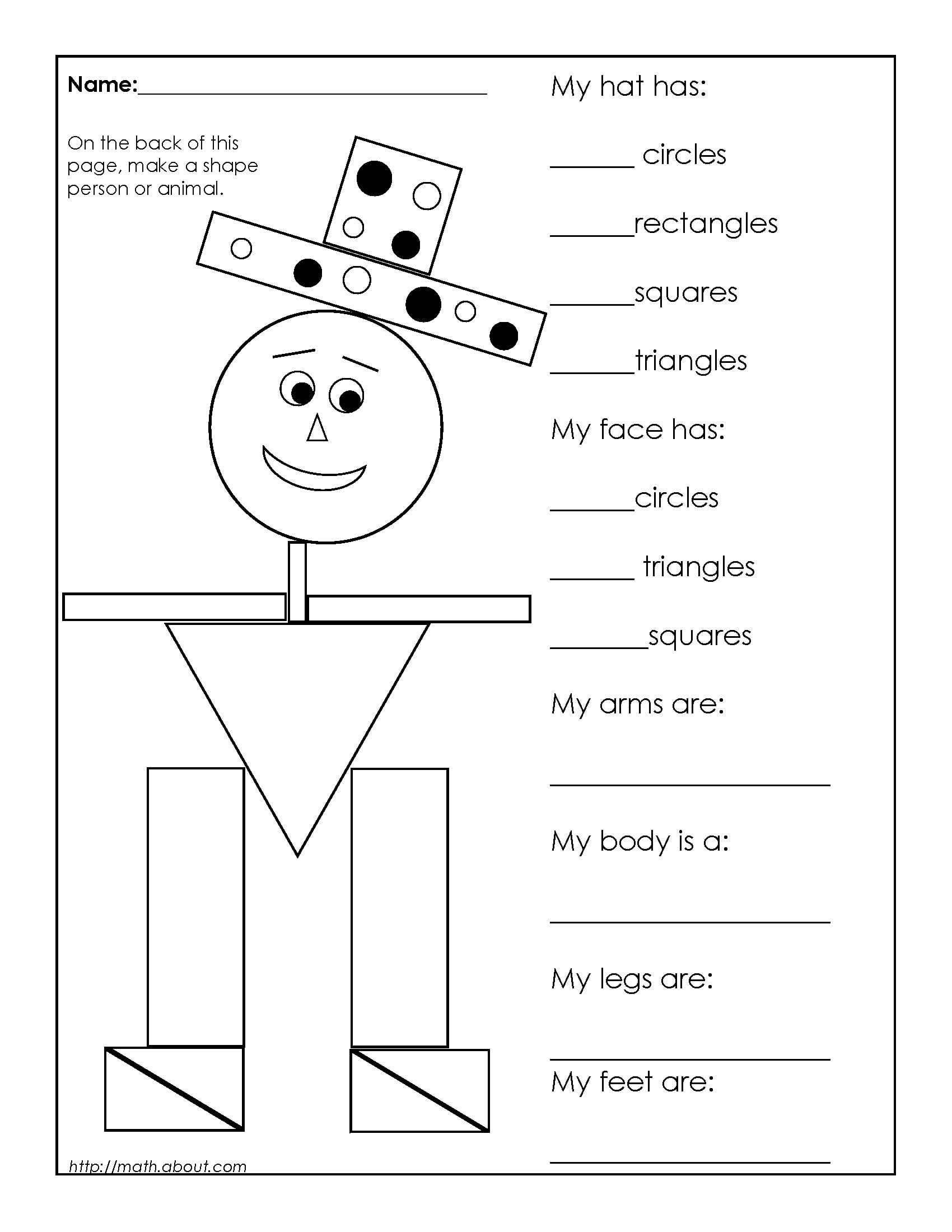 1st Grade Geometry Worksheets for Students | Mathe, Englisch und Schule