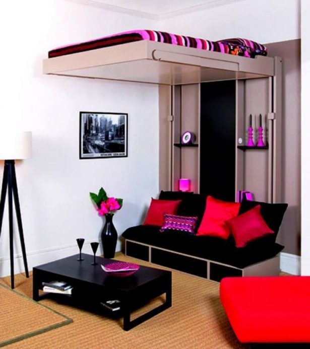 Teens Room Stylish Trendy Upper Bed In Cozy Teenage Bedroom Ideas For Small Rooms Cream Clean Carpet Contempor Small Room Bedroom Elegant Bedroom Small Bedroom