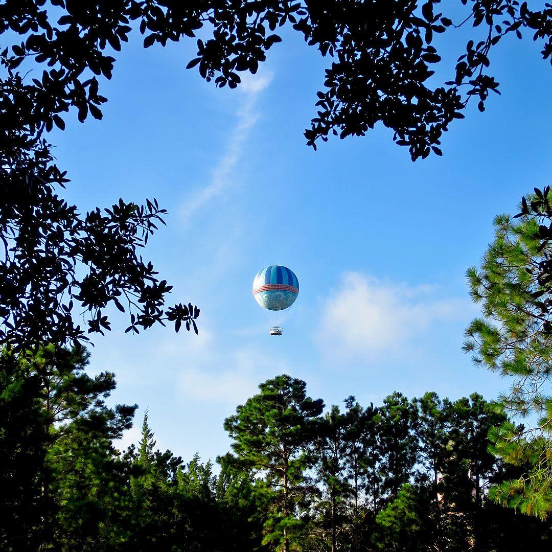 waltdisneyworld hotairballoon Disney springs, Disney
