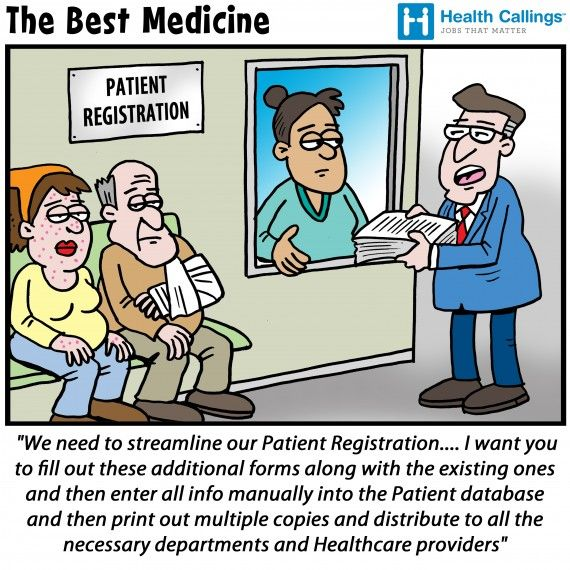 The Best Medicine Hilarious Healthcare Cartoons Streamlining