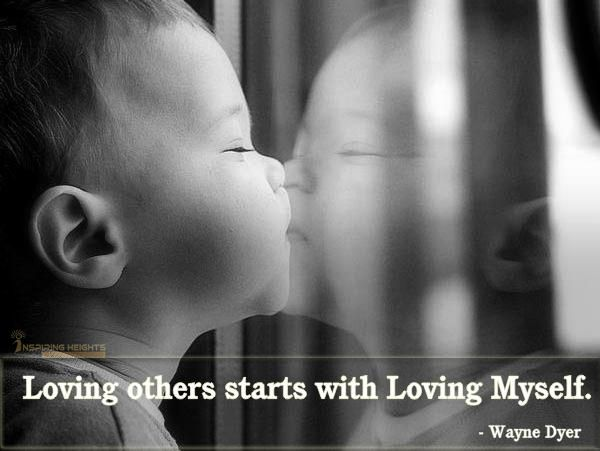 Loving others starts with Loving Myself.