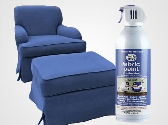 Fabric Spray Paint Simply Spray Upholstery Dye is your best