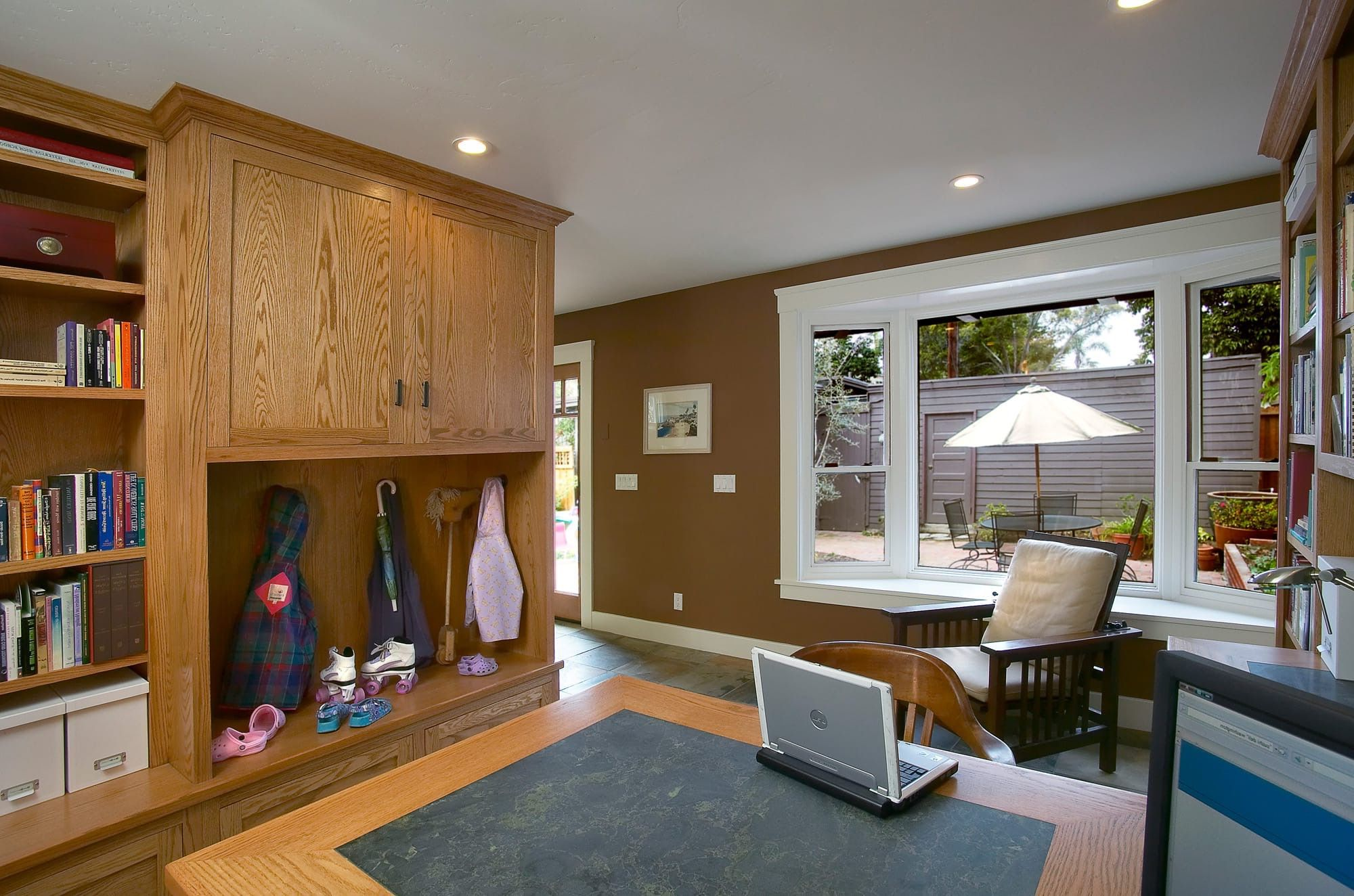 Modern Craftsman Home Office →  https://wp.me/p8owWu-6D0 -