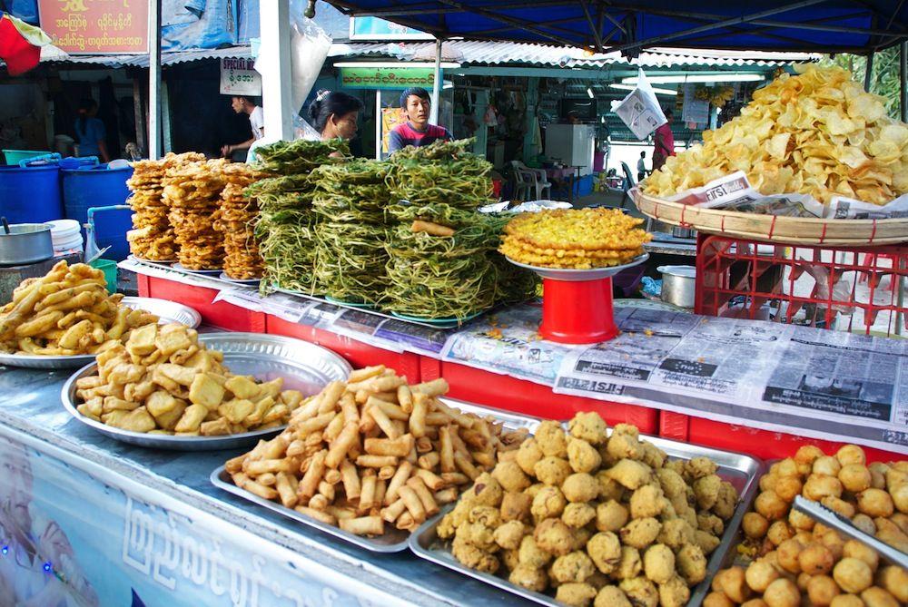 Delicious Myanmar Burmese food, Delicious, Food