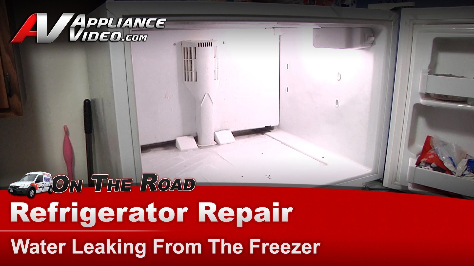Kenmore Refrigerator Repair Water Leaking From The