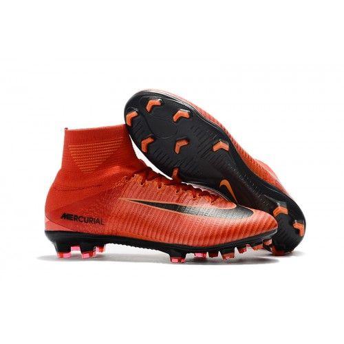 Scarpe Calcio Nike Mercurial Superfly V FG Rosse