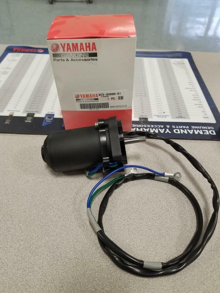 NEW POWER TILT /& TRIM MOTOR YAMAHA 6C5-43880-00-00 6C5-43880-01-00 6C5-43880