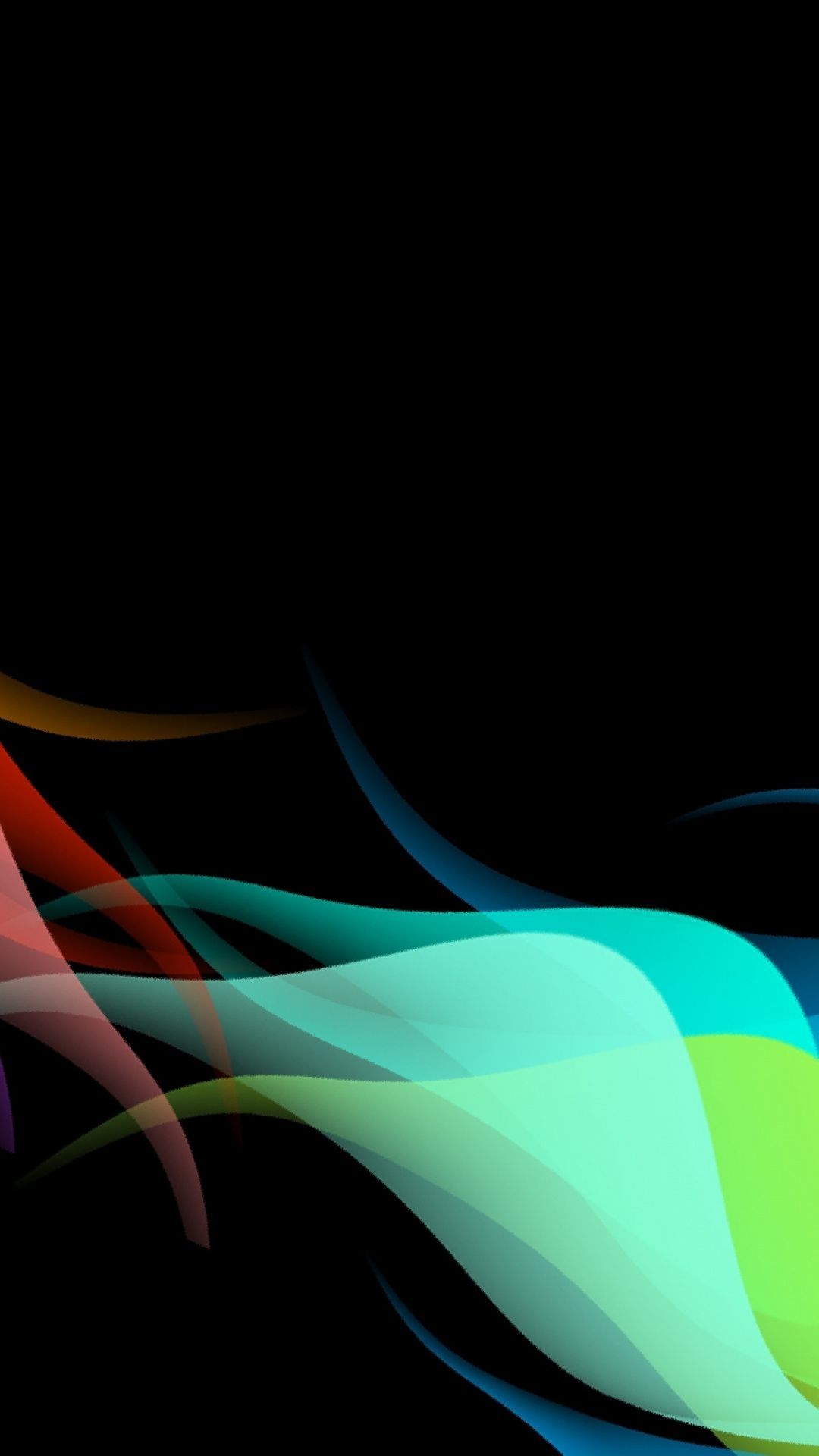 Abstract Waves Colorful Art 1080x1920 Wallpaper Abstract