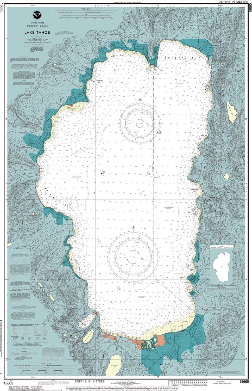 Lake Tahoe CA - 5x7 ( $12.00 ) | tahoe | Lake tahoe, Lake tahoe ca ...