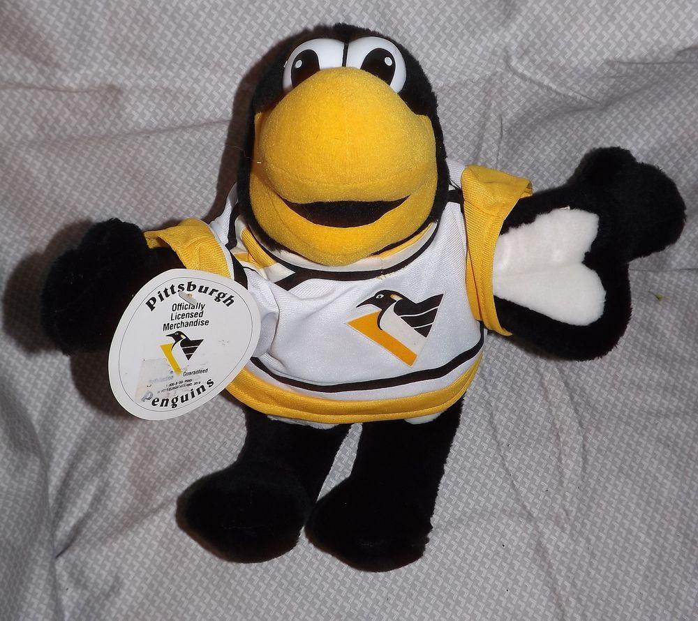 Pittsburgh Penguins Plush Stuffed Mascot Toy Nhl New Iceburgh 00 M