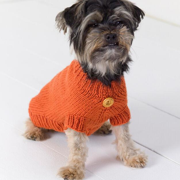 DOG SWEATER KNIT PATTERN - KnitCraft #knit #crochet #pattern #pet