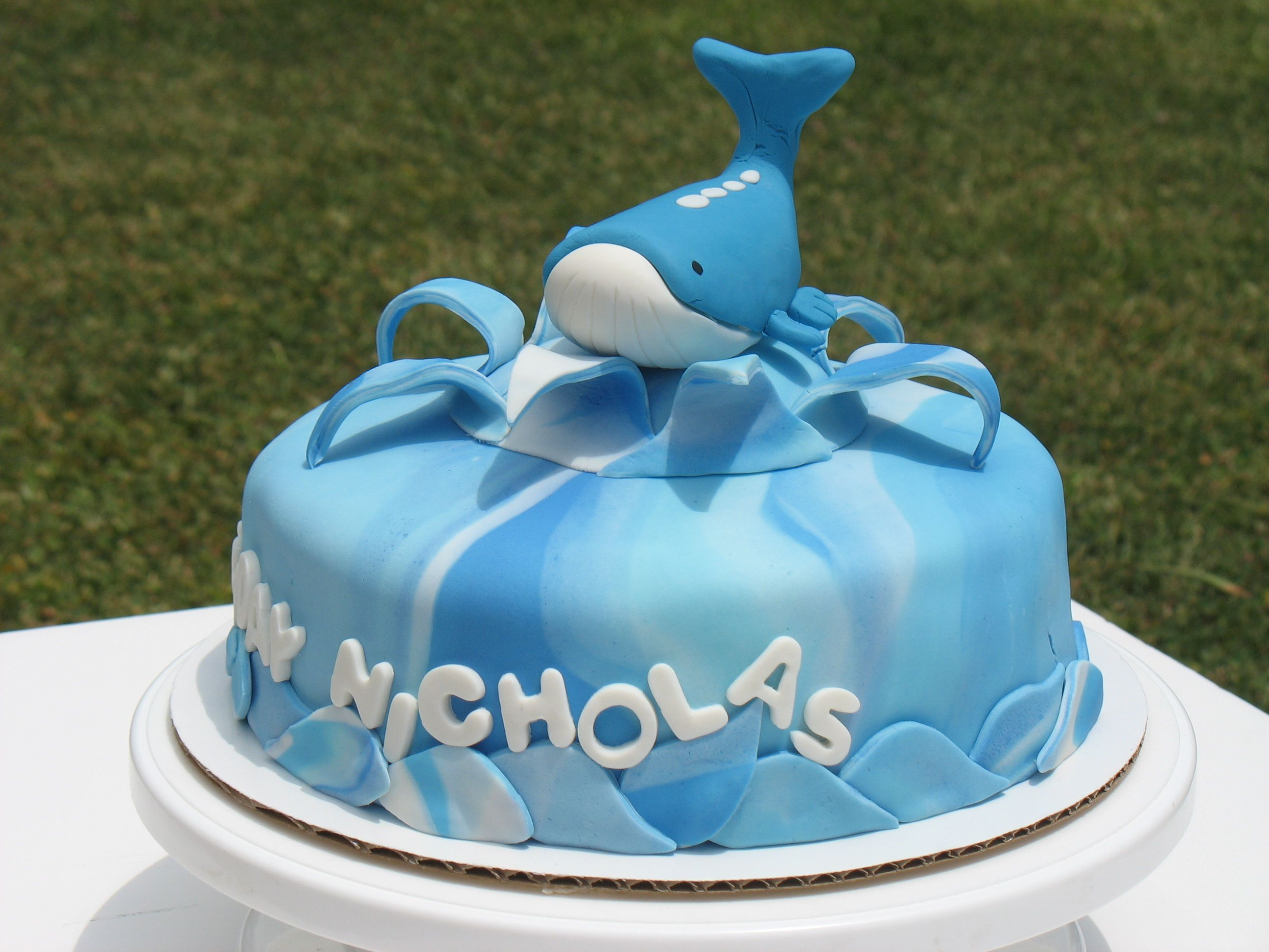 Wailord Birthday Cake Whale cakes Cake and Birthday cakes