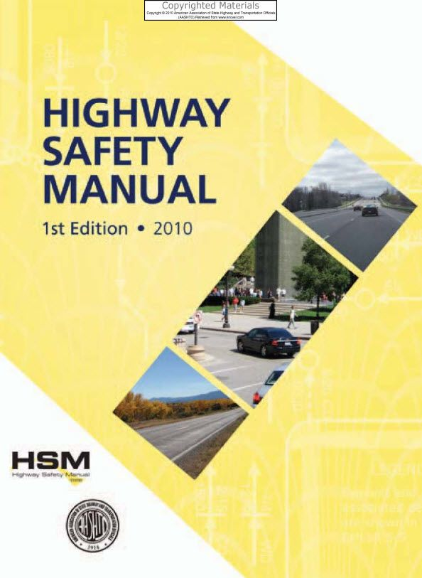 Aashto Highway Safety Manual