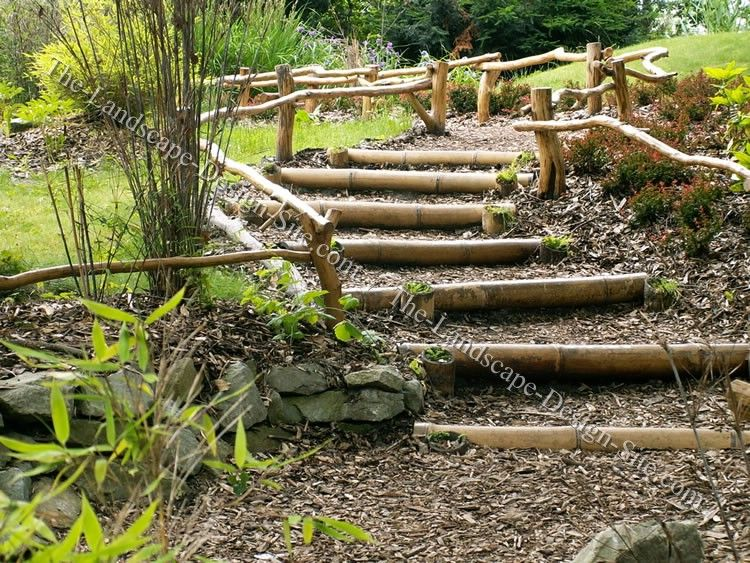 Landscaping Landscape Designs And Ideas Landscaping Design And Diy Garden Planing Ideas For Small And Large Gardens Backya Garden Stairs Natural Landscaping
