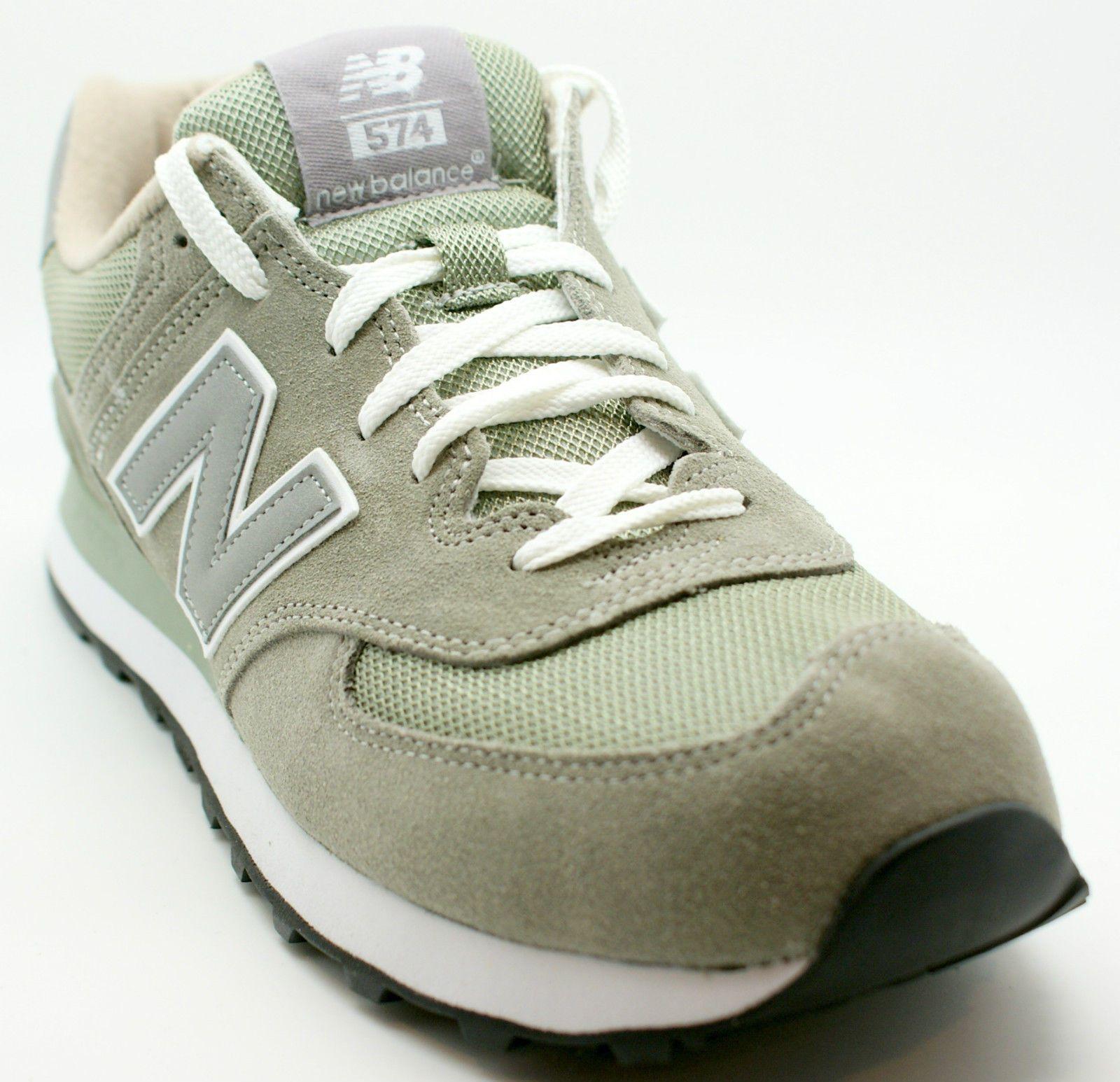 New Balance NB Men M574GS 574 Classic Suede Running Sneakers Shoe Gray 10 D  NIB. Entraînement De CrossBaskets De CourseNouvel ÉquilibreChaussures ...