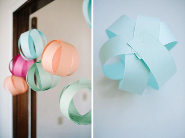 Ideas decorativas para fiestas decorar con bolas de papel - Ideas decorativas para cumpleanos ...