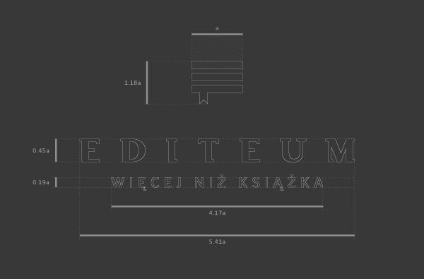 Editeum branding guidelines by Artentiko.