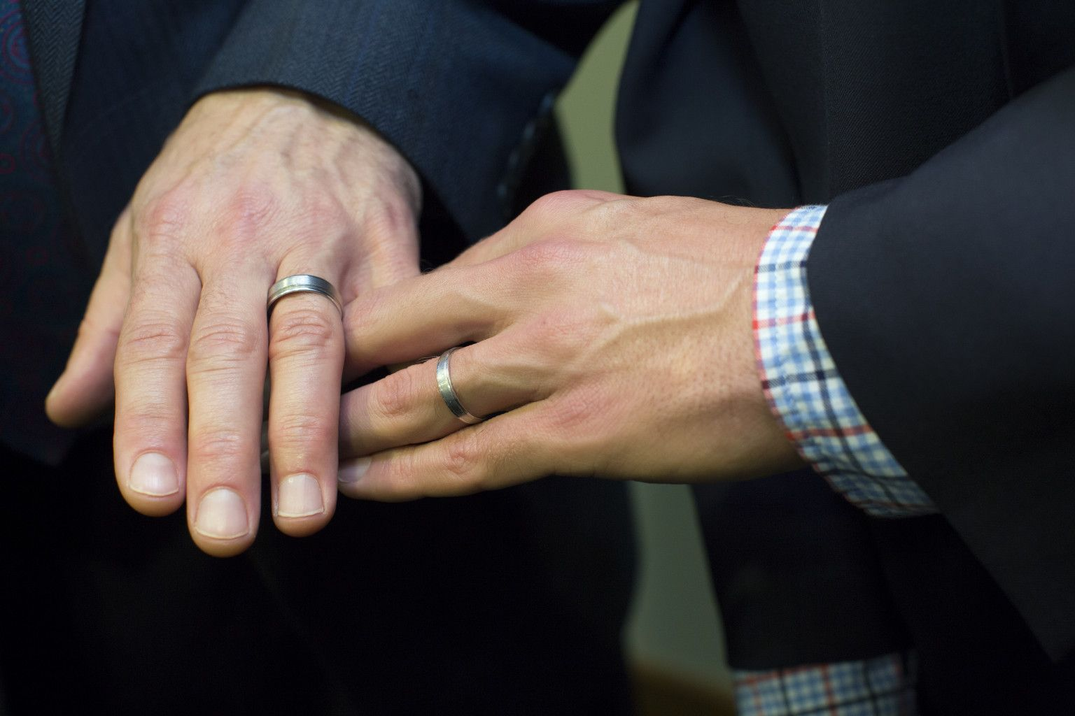 Image for Gay Wedding Rings Tumblr weddings Pinterest Gay and