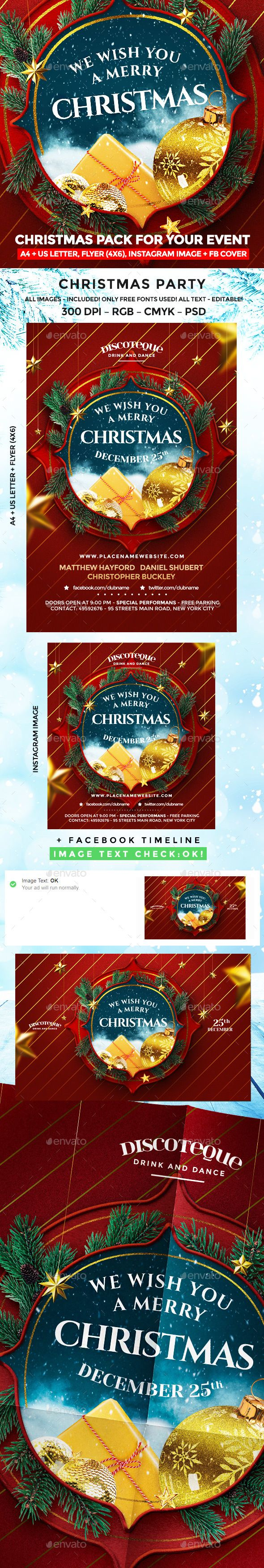 Christmas Christmas Flyer Christmas Poster And Flyer Template
